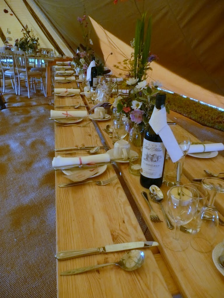 TeePee Wedding Catering